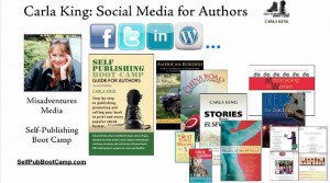 Social Media for Authors Presentation April 2013