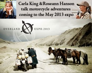 Tonight I talk with Roseann Hanson about Overland Expo in May 2013