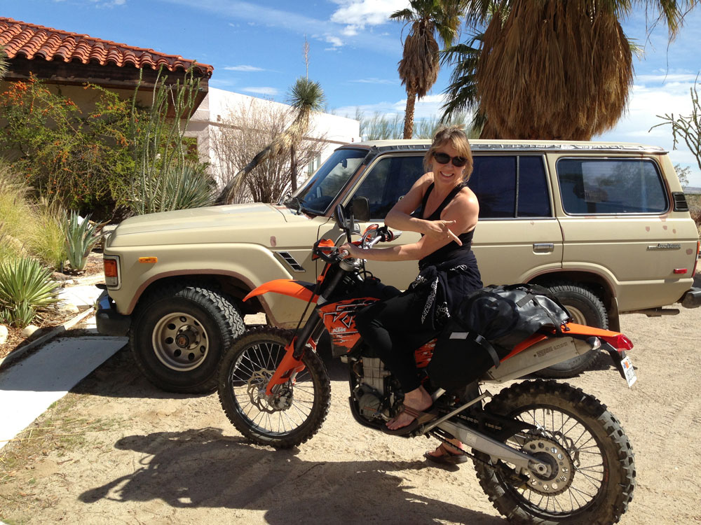 Carla King Motorcycle Adventure Travel Giant Loop Moto Great Basin Bag