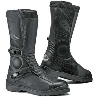TCX Infinity GTX Touring dual-sport adventure motorcycle boot comparison reviews