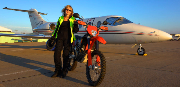 Carla King Jetsetting with a KTM