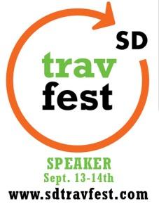 Carla King speaks at San Diego Travel Festival 2014