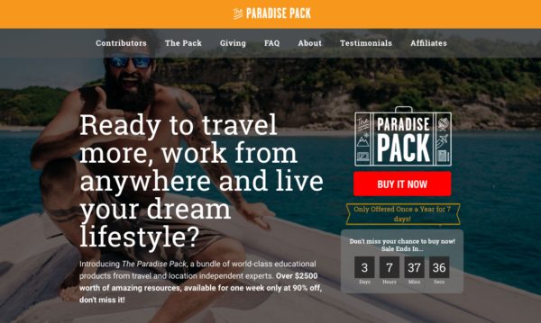Paradise Pack 2016