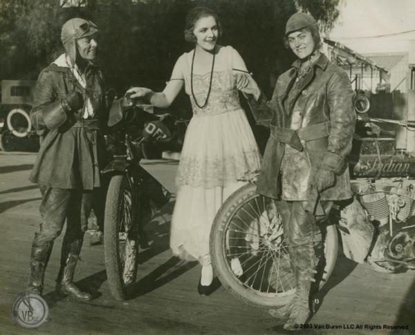 Van Buren sisters motorcycle ride