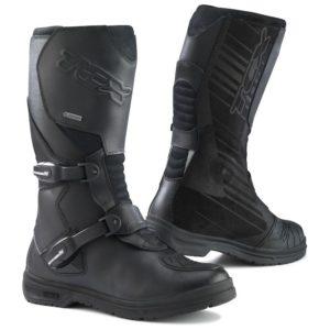 Adventure motorcycle boot comparison TCX Infinity EVO Gore-Tex
