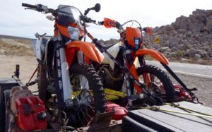 How to Load a Motorcycle Trailer Properly