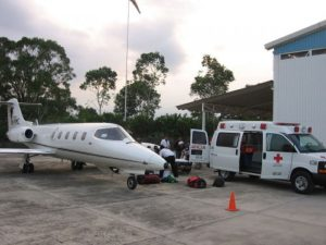 How to get search and rescue medical help in Baja