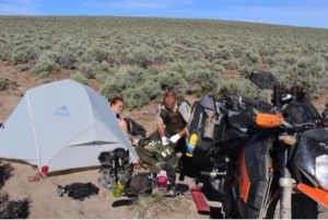 Baja motorcycle adventure gone bad, satellite messenger rescue (DeLorme)