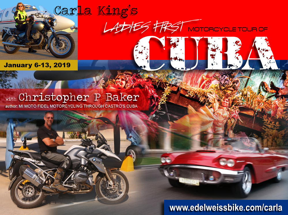 Cuba Motorcycle Tour Carla King