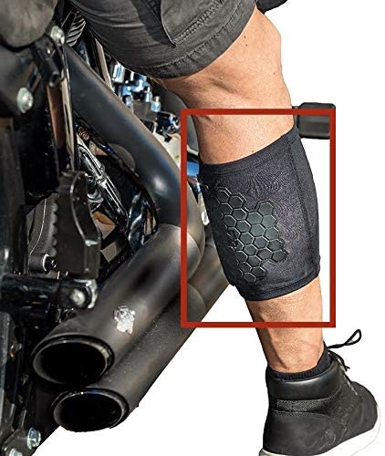 motorcycle chrome burn protector