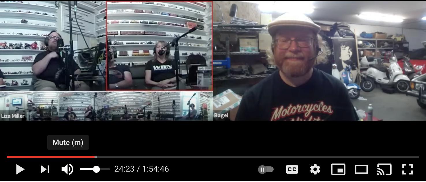 Motorcycles and Misfits podcast Re-cycle Garage Santa Cruz
