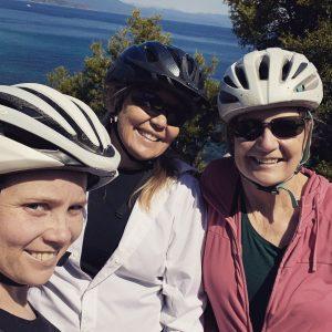 Justine, Carla, Celia, Lake Tahoe