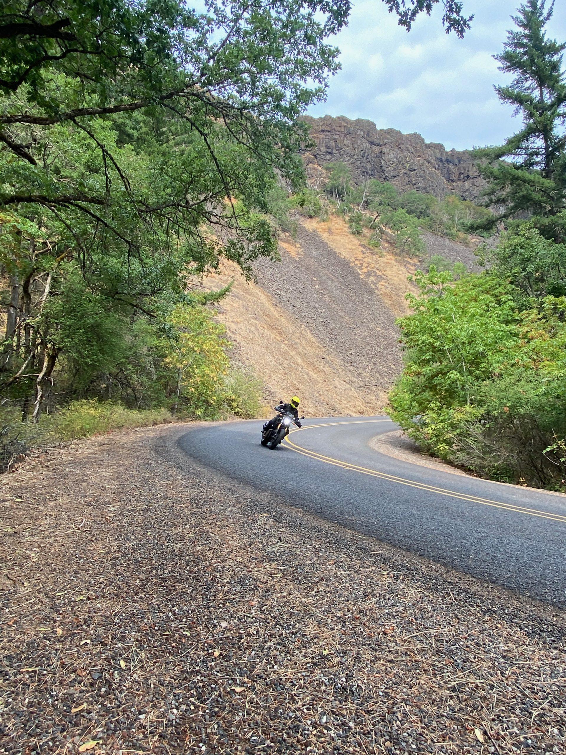 Rowena Crest Motorcycling