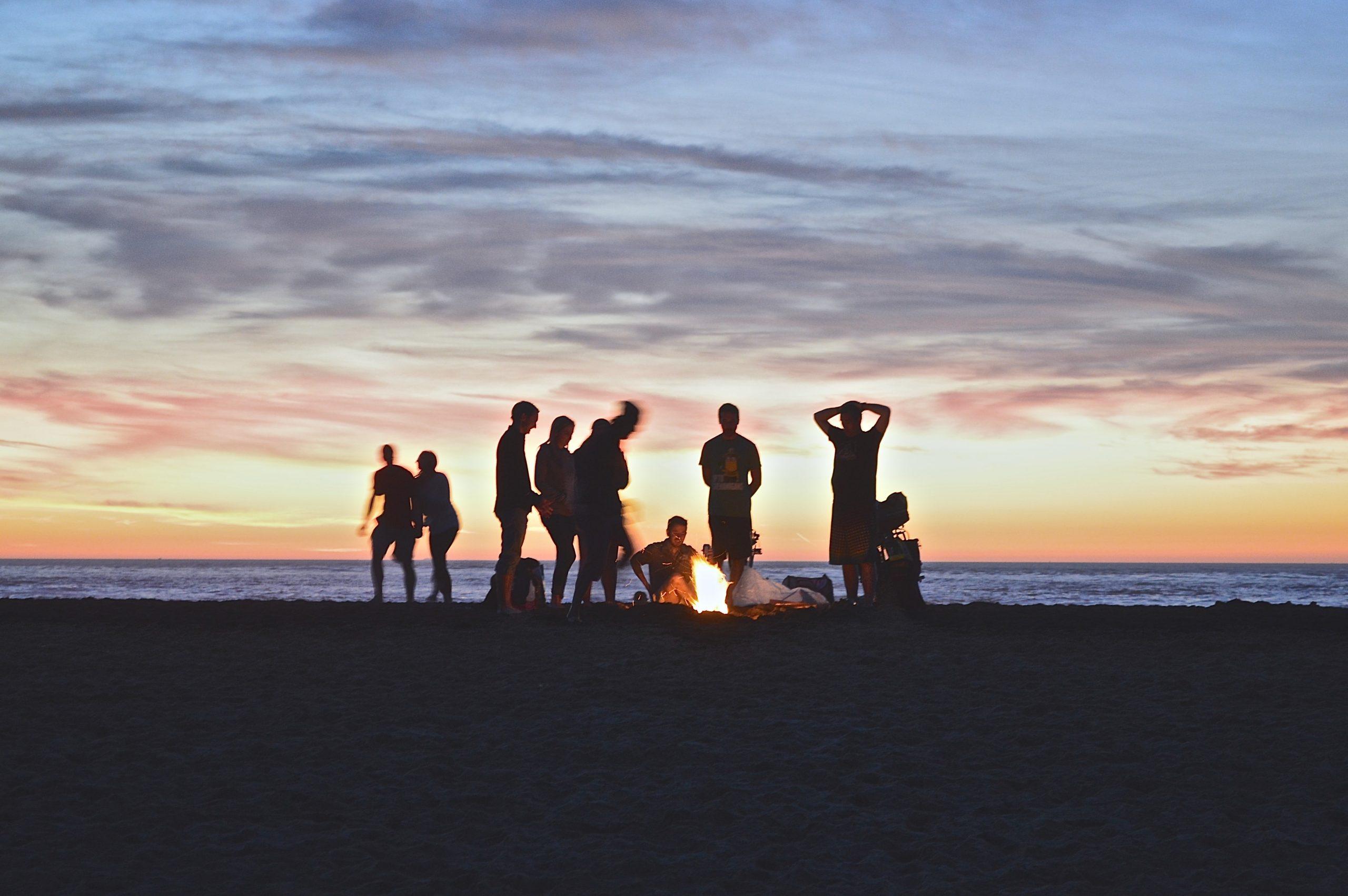 santa cruz beach party