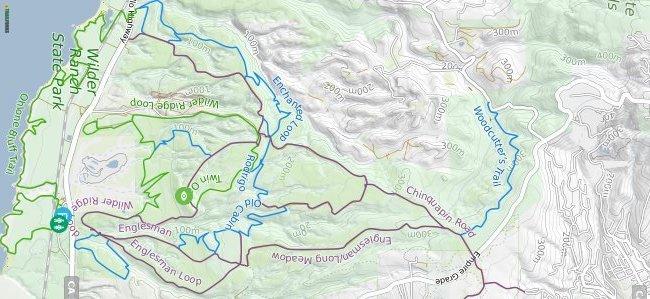 Wilder Ranch hike and bike trail
